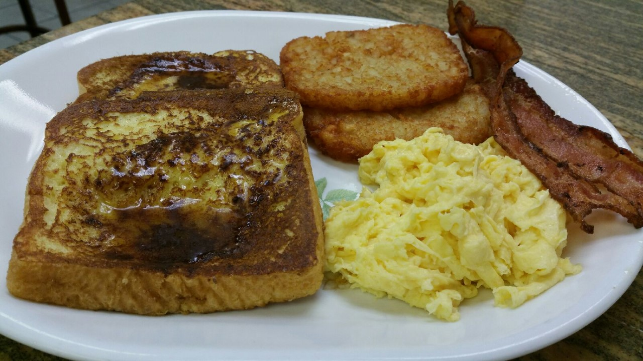 Main Street Cafe morning special