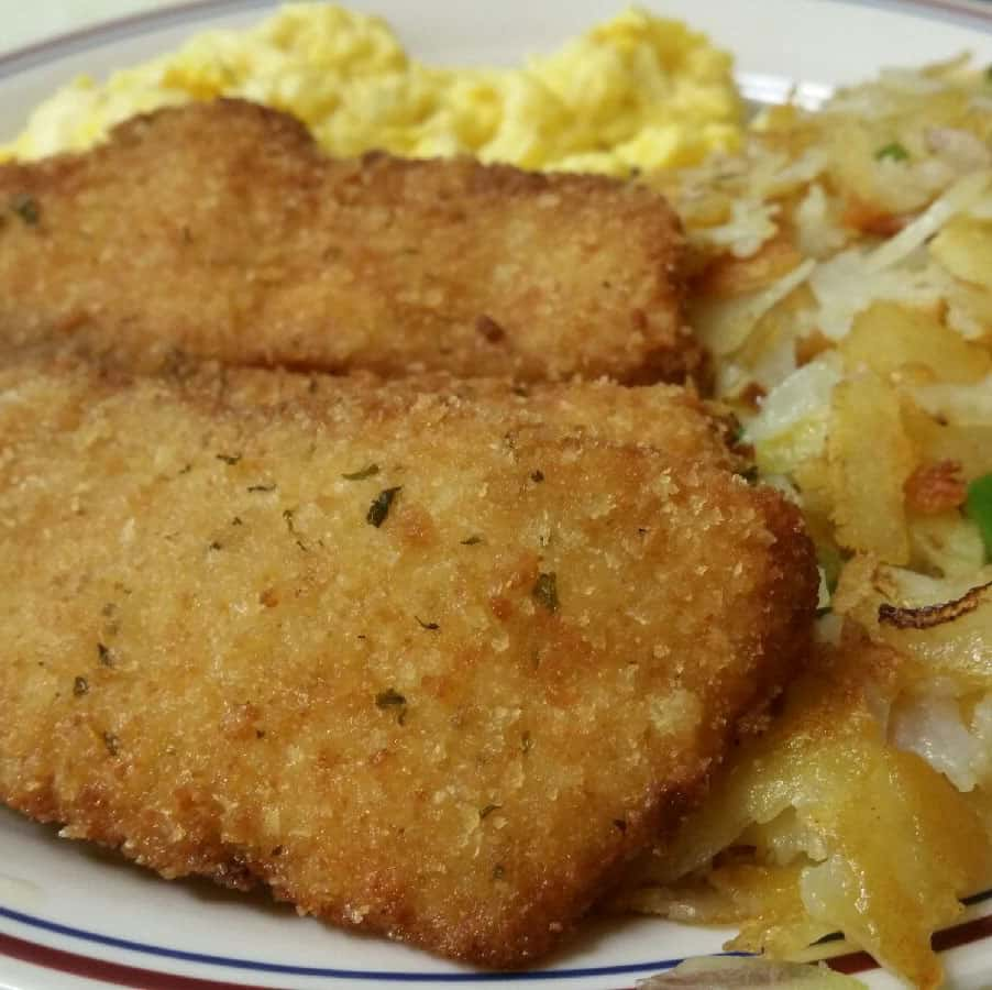 Main Street Cafe hashbrowns
